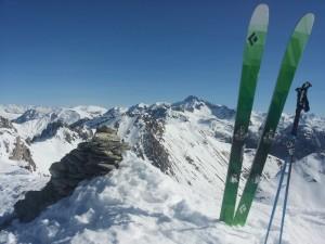 Ski Béal Traversier - Sommet des Esparges Fines