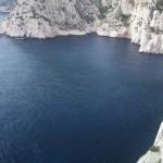 Escalade Calanques - Vue sur la Calanque de l'Oule