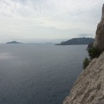 Escalade Calanques - Vue sur la mer