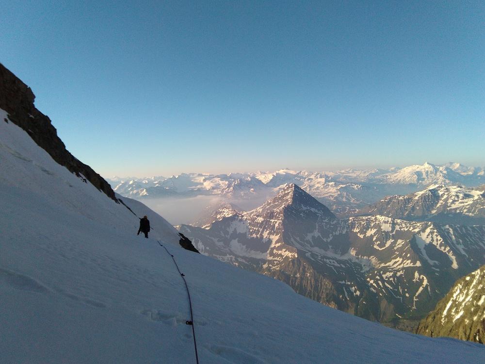 Mont-Blanc - Inominata - Glacier du Brouillard