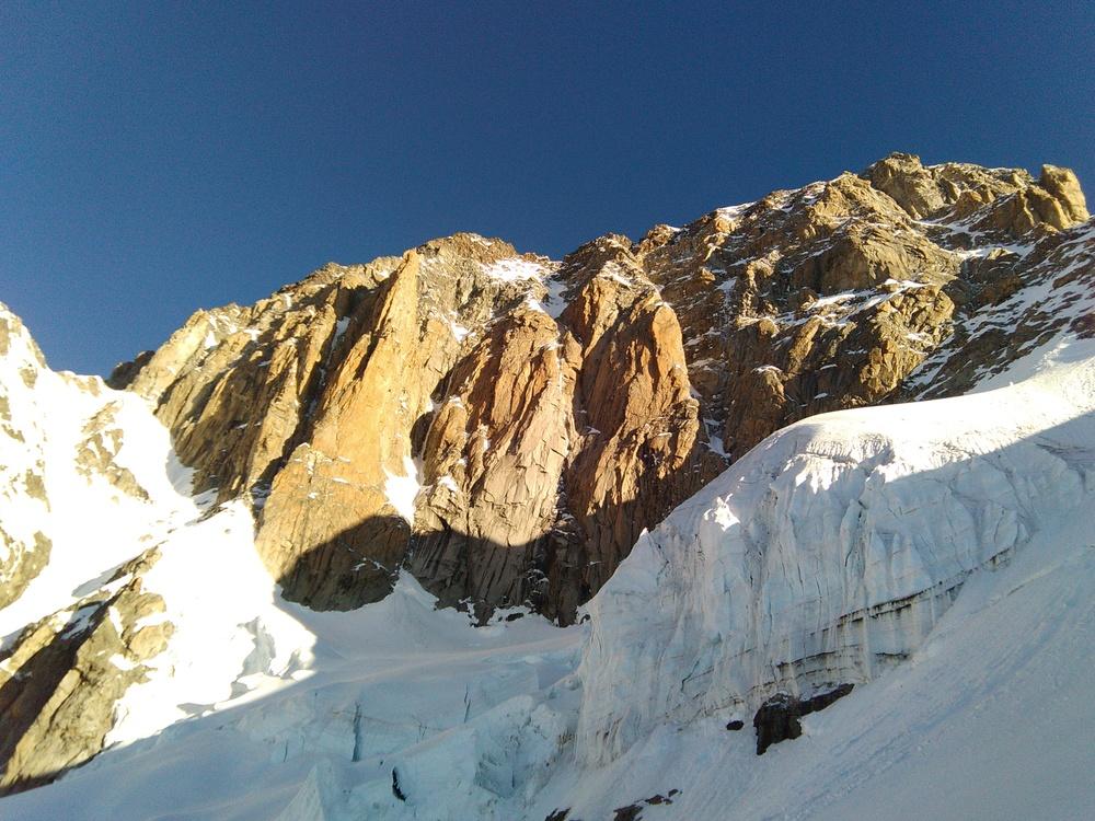 Mont-Blanc - Inominata - Piliers rouges du Brouillard