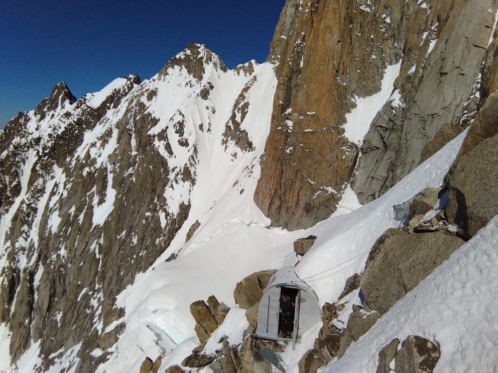 Mont-Blanc - Inominata - Bivouac Eccles