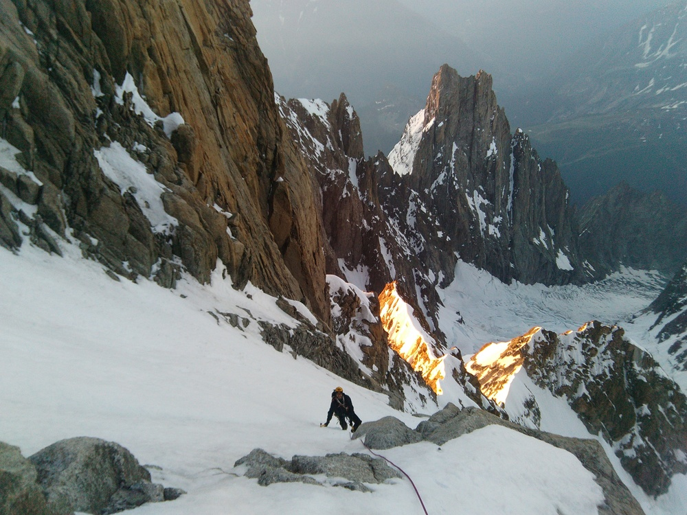 Mont-Blanc - Inominata - Grand couloir