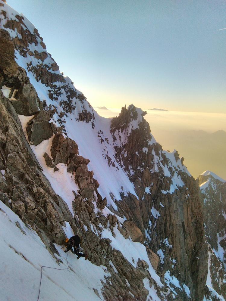 Mont-Blanc - Enfin des bonnes conditions