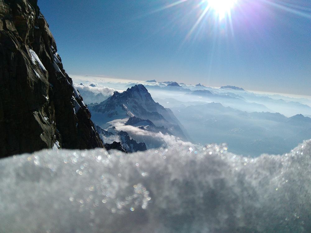 Mont-Blanc - Profiter d'être là
