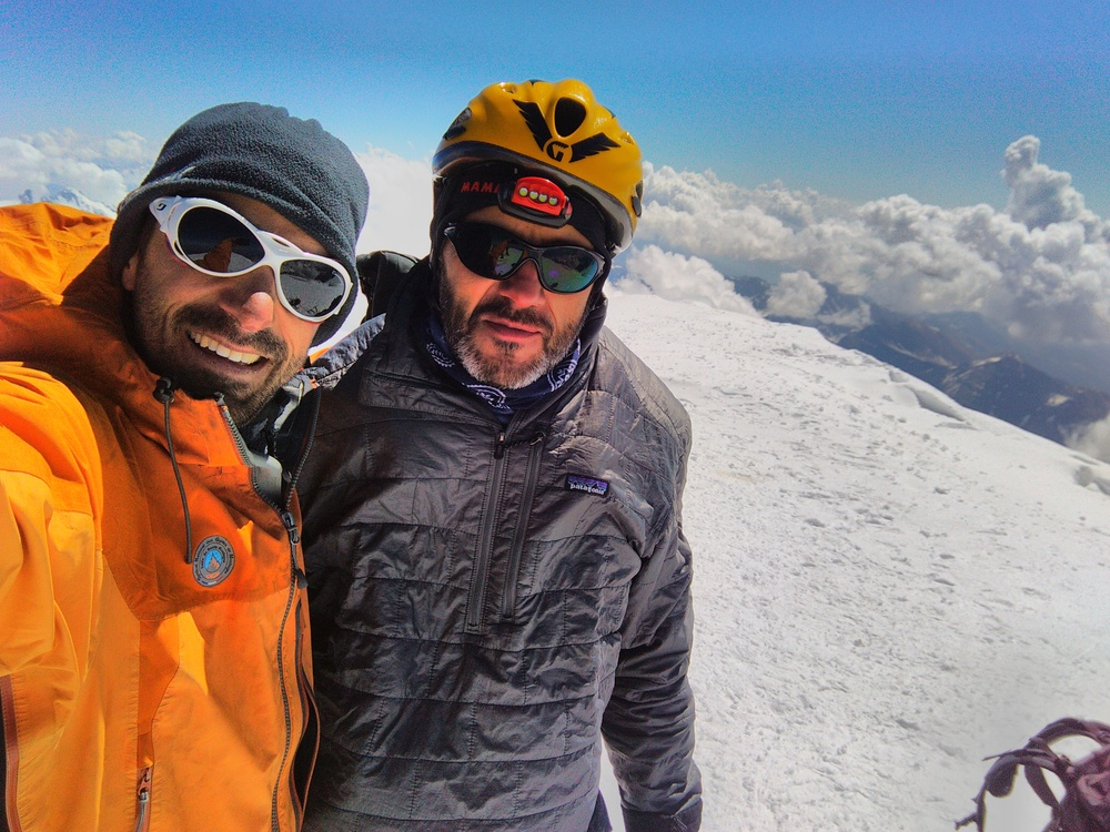Mont-Blanc - Inominata - Sommet