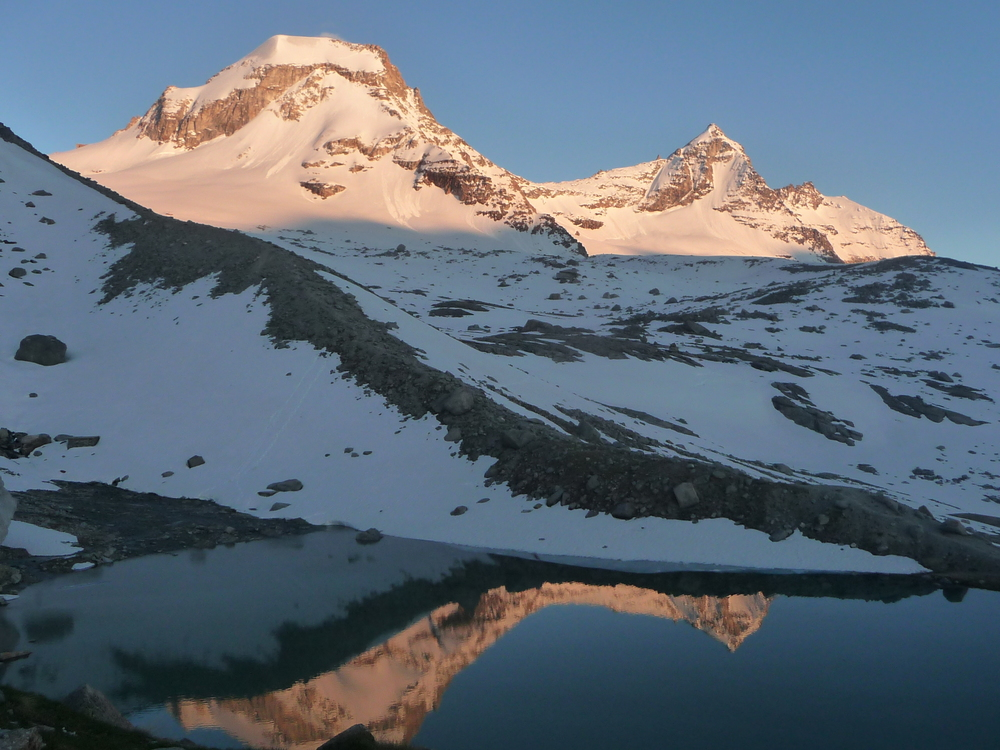 Grand Paradis - Reflets sur le lac