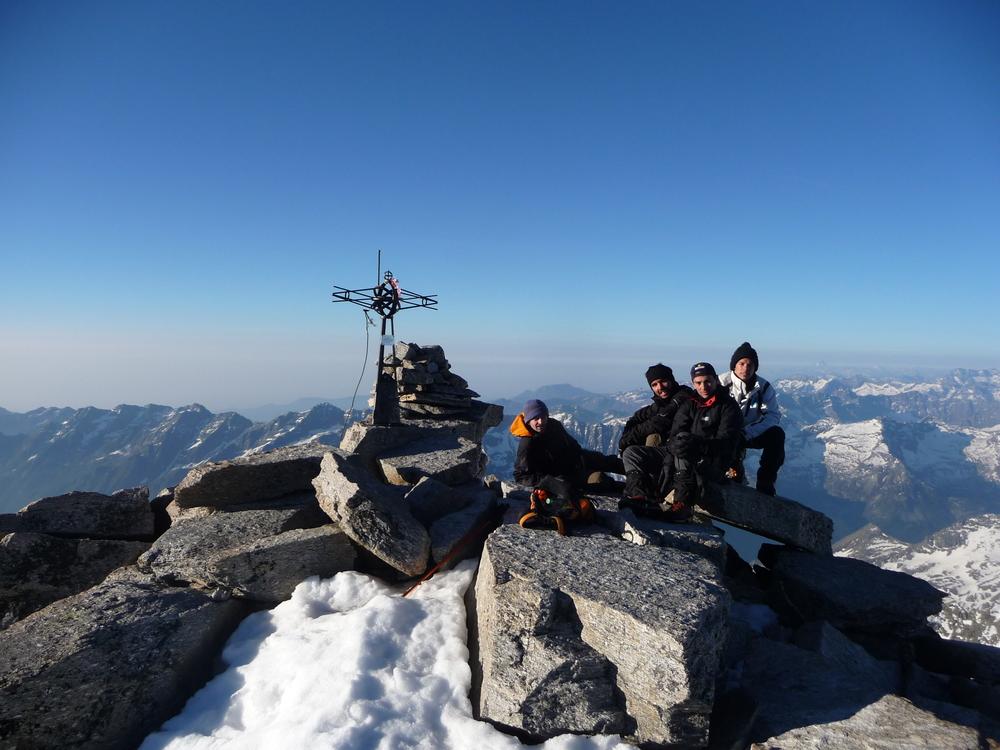 Grand Paradis - Tresenta sommet