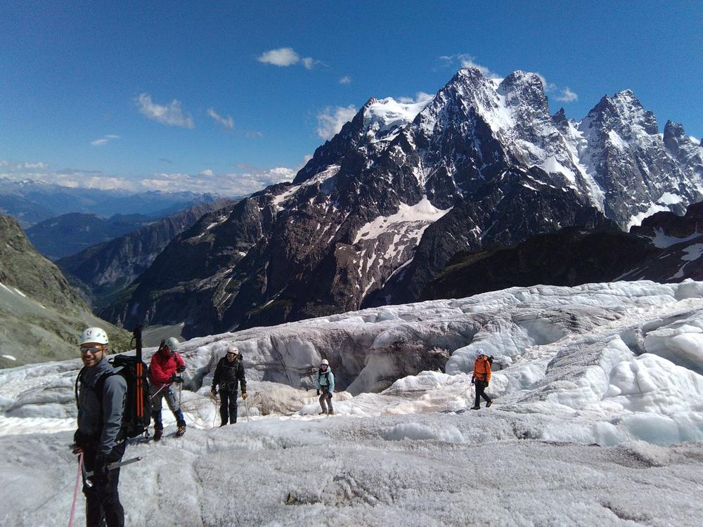 Initiation Alpinisme - Ecole glace