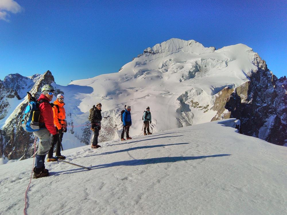 Initiation Alpinisme - Pas vilaine cette vue