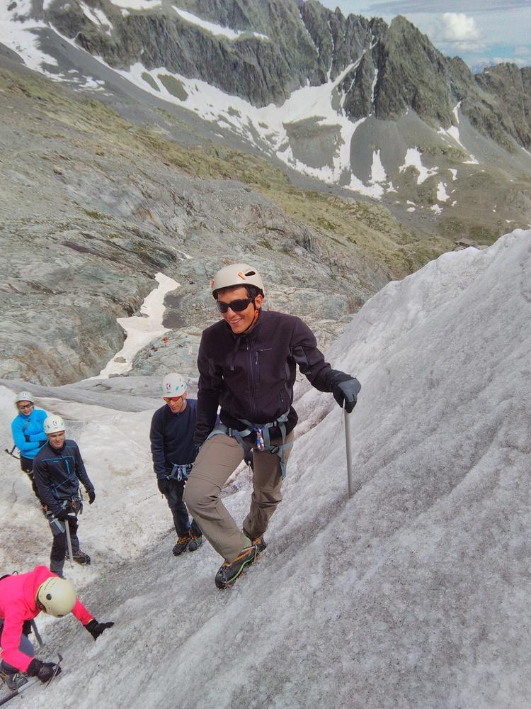 Stage alpinisme - Ecole de glace