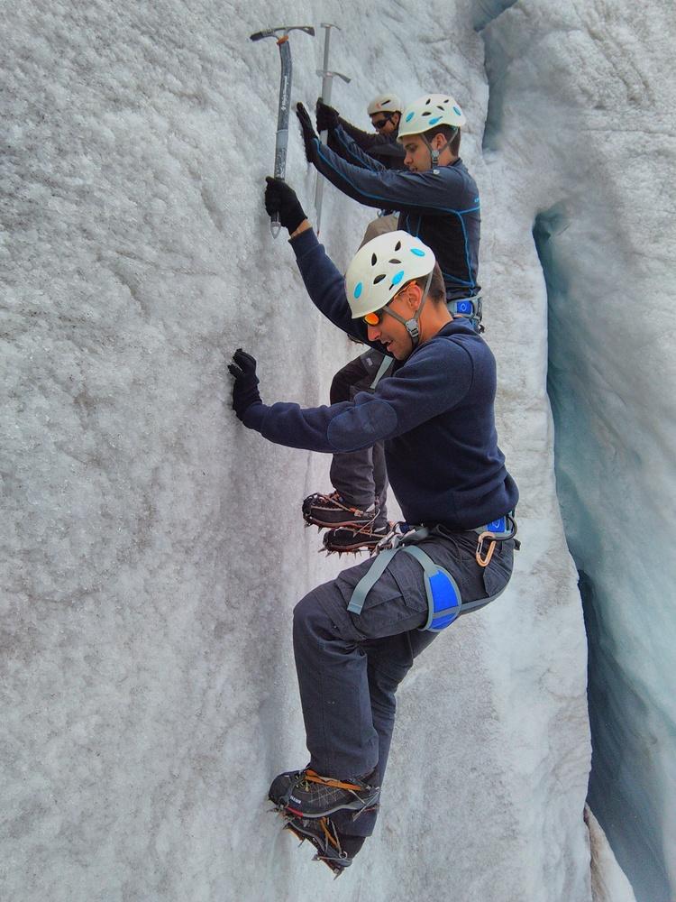 Stage alpinisme - Ecole de glace, sans trucage!
