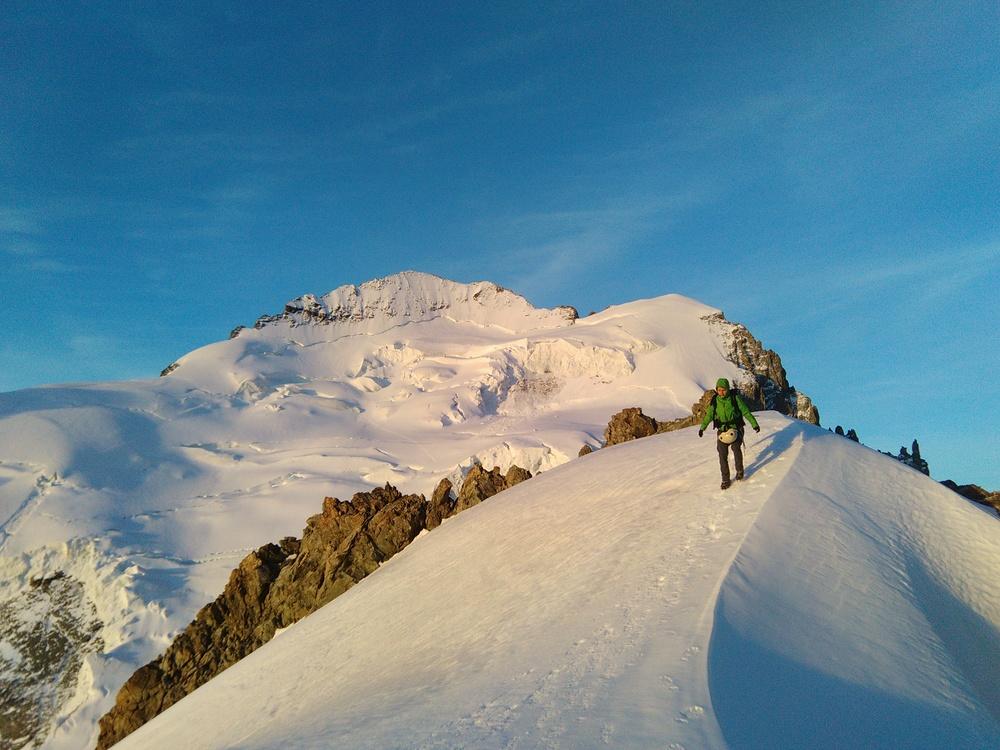 Stage alpinisme - Devant le Dôme