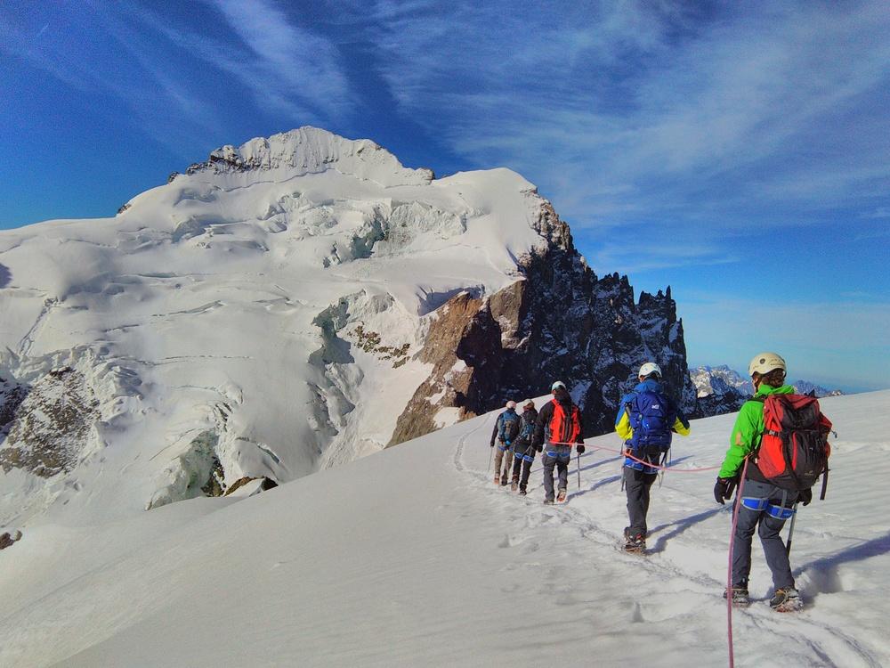 Stage alpinisme - Descente de la Roche Faurio
