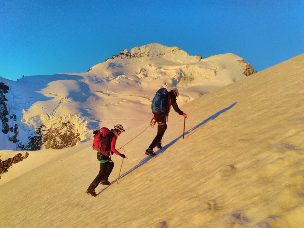Initiation Alpinisme - Antoine & Lucile