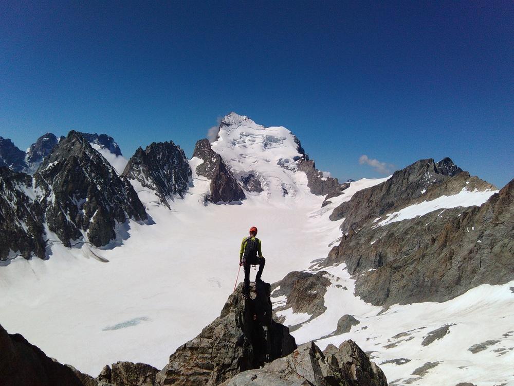 Pic du Glacier Blanc - Arête S - La classe