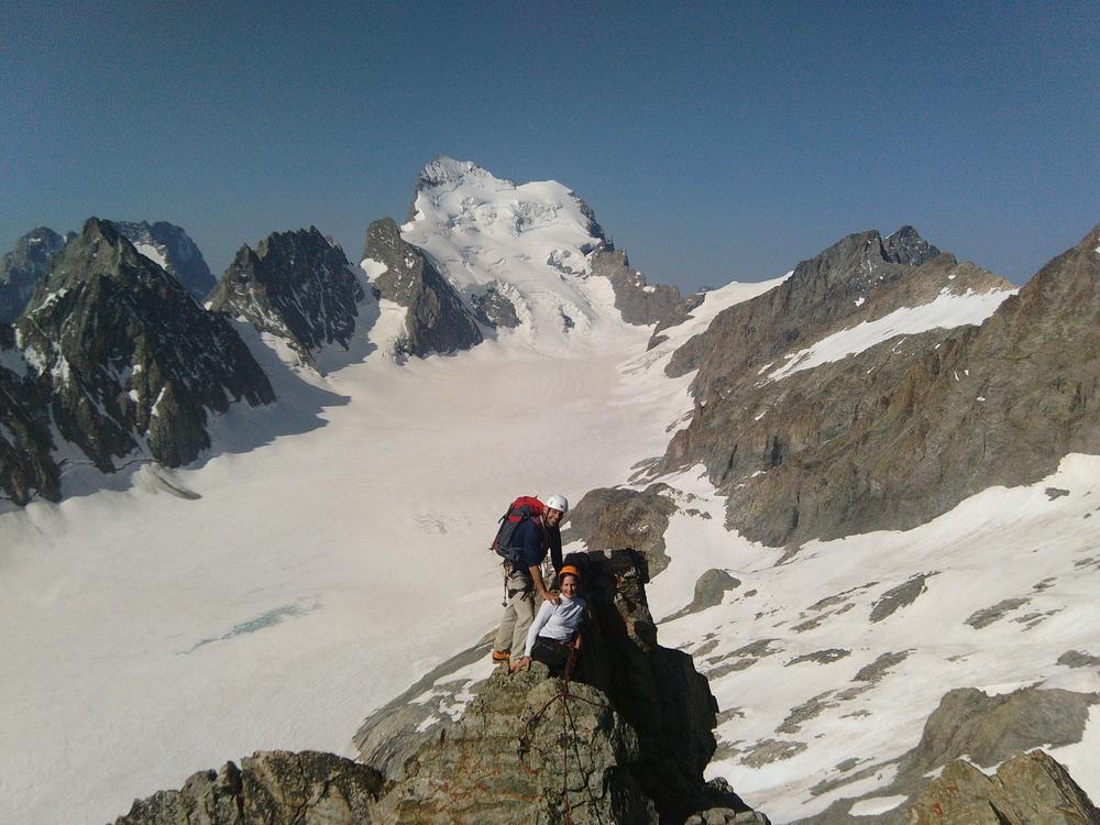 Arête sud - Pic du Glacier Blanc - Nicolas DRAPERI | Guide ...