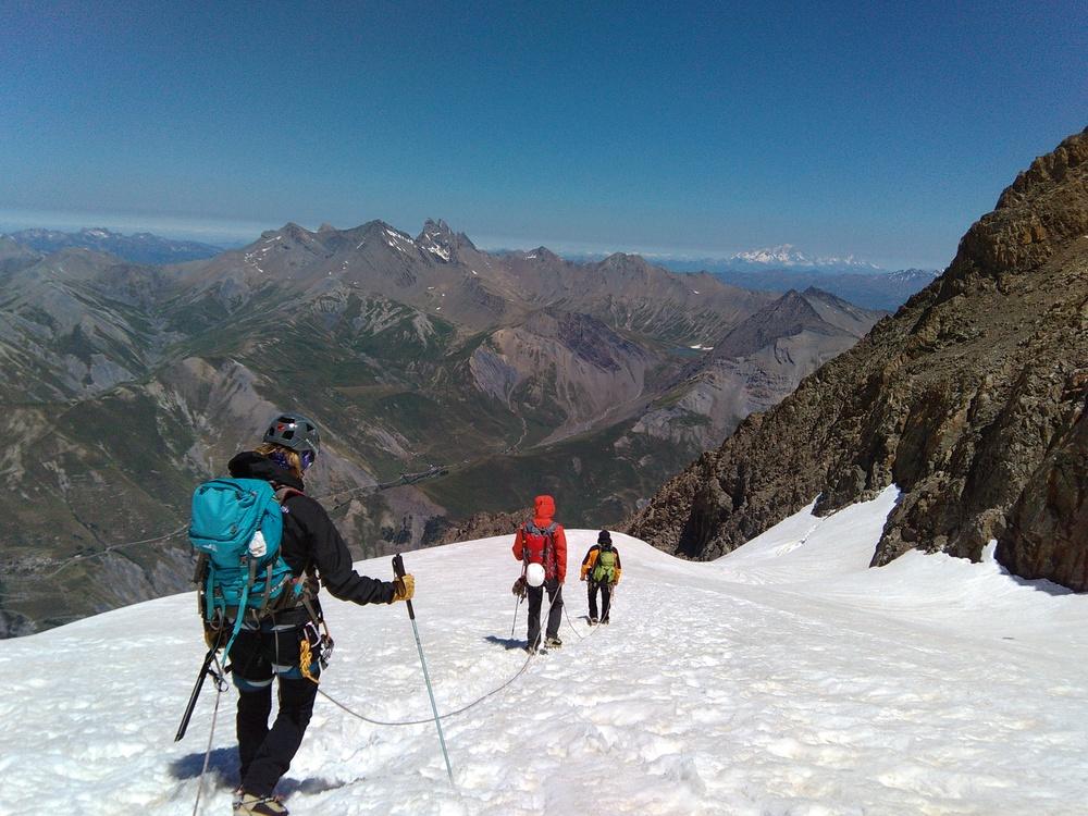 Meije Doigt de Dieu - Et on file pour 1800m de descente