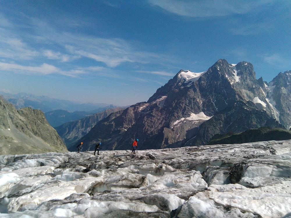 Stage autonomie alpinisme - Ecole de glace