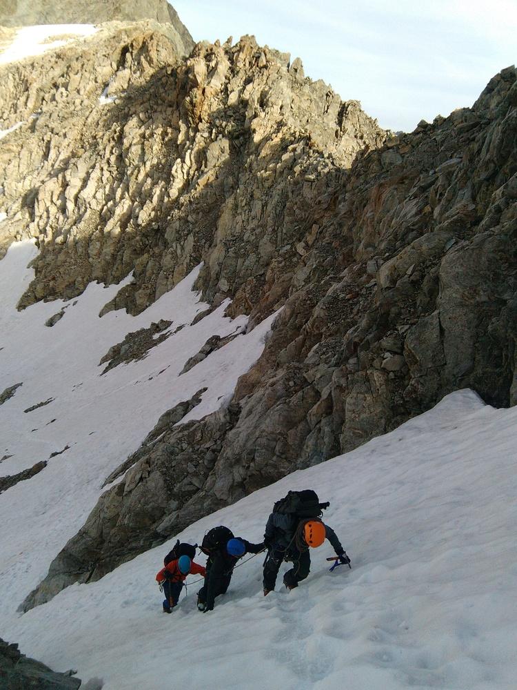 Stage autonomie alpinisme - Pente de neige