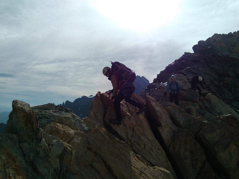 Stage autonomie alpinisme - Traversée d'arête