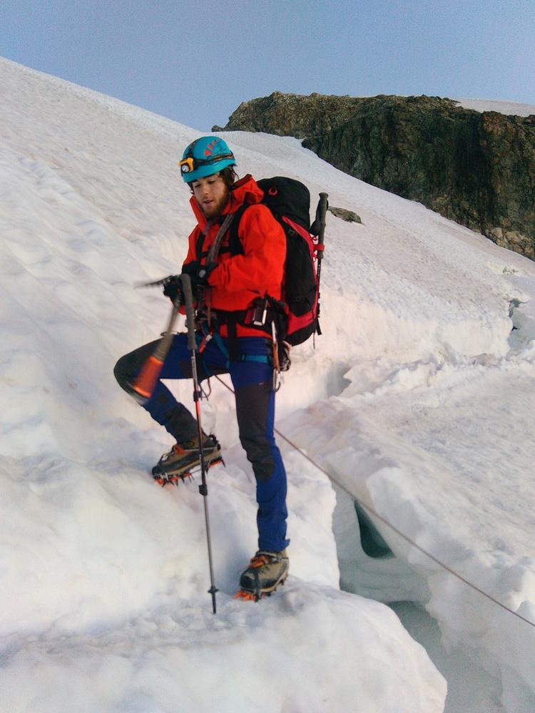Stage autonomie alpinisme - Passage de rimaye