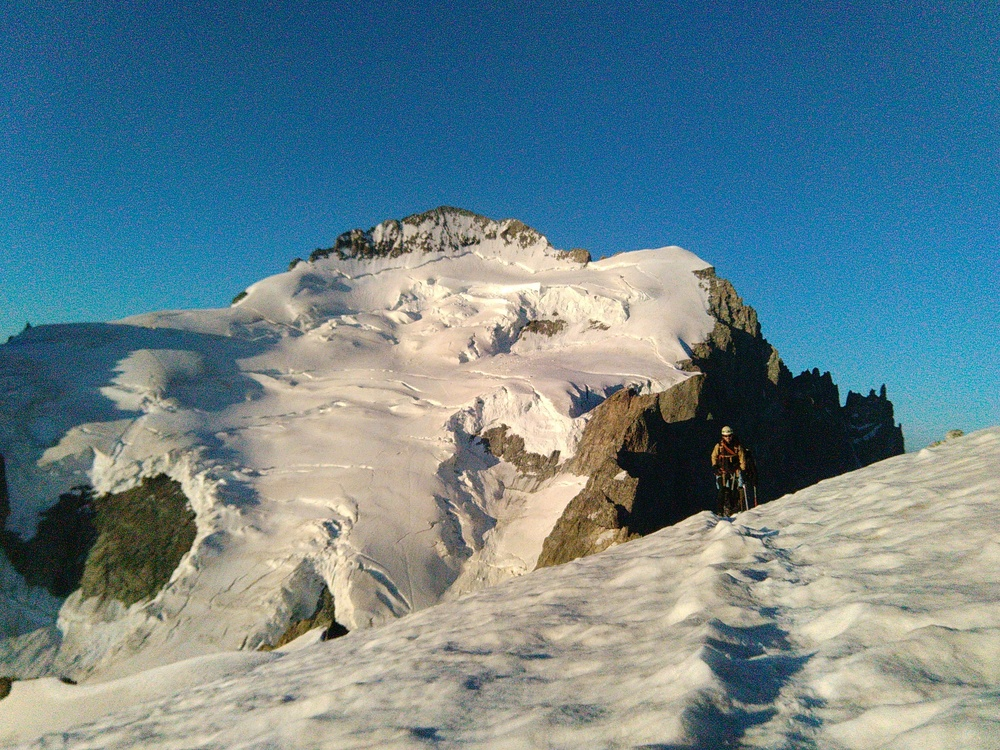 Stage autonomie alpinisme - Devant la Roche Faurio