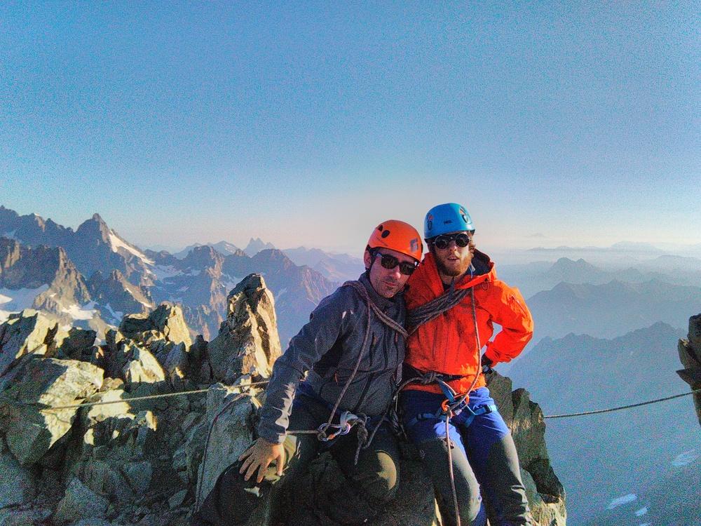 Stage autonomie alpinisme - Immanol et Orti
