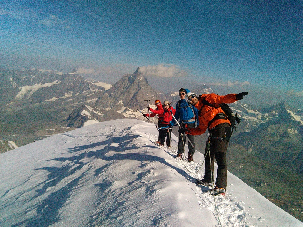Breithorn Occidental et Central