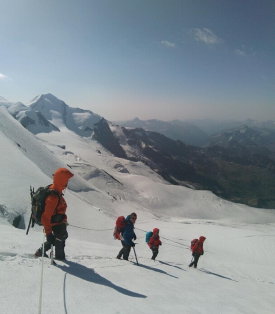 Breithorn - descente