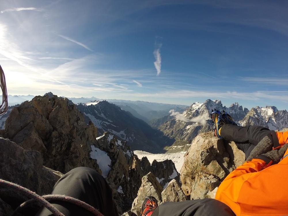 Neige Cordier - Vue du sommet