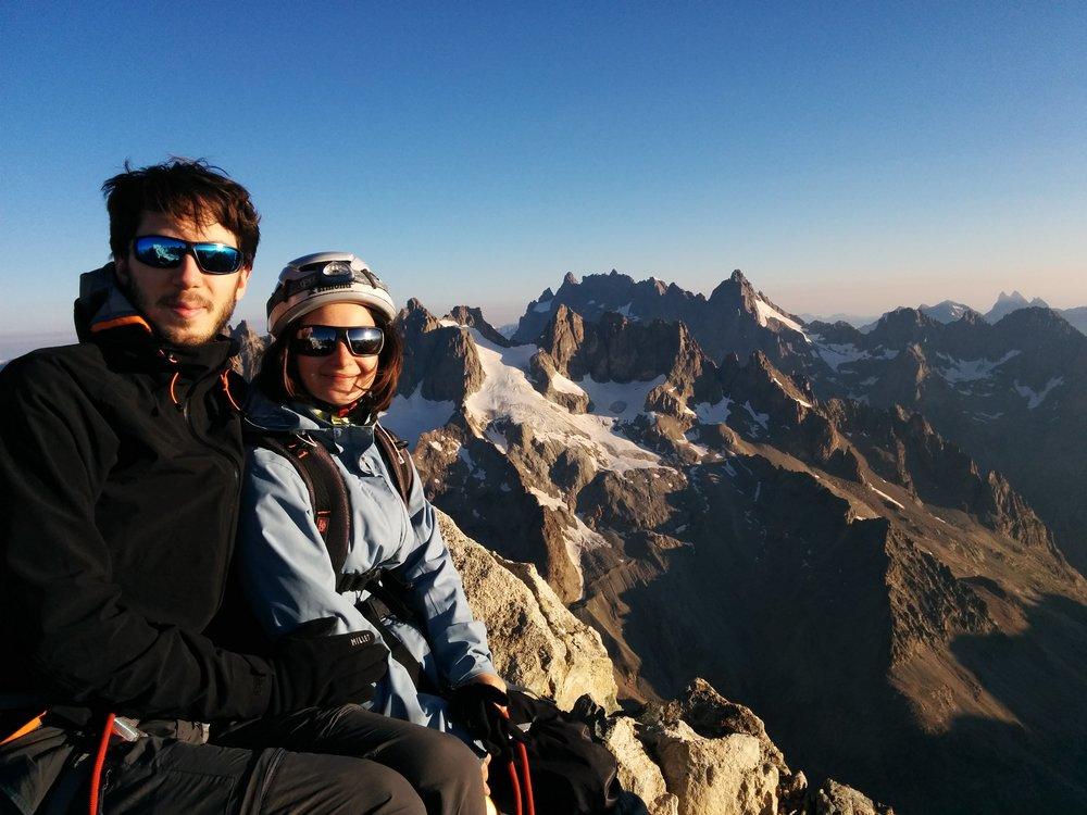 Stage autonomie alpinisme - Flore et Raphael
