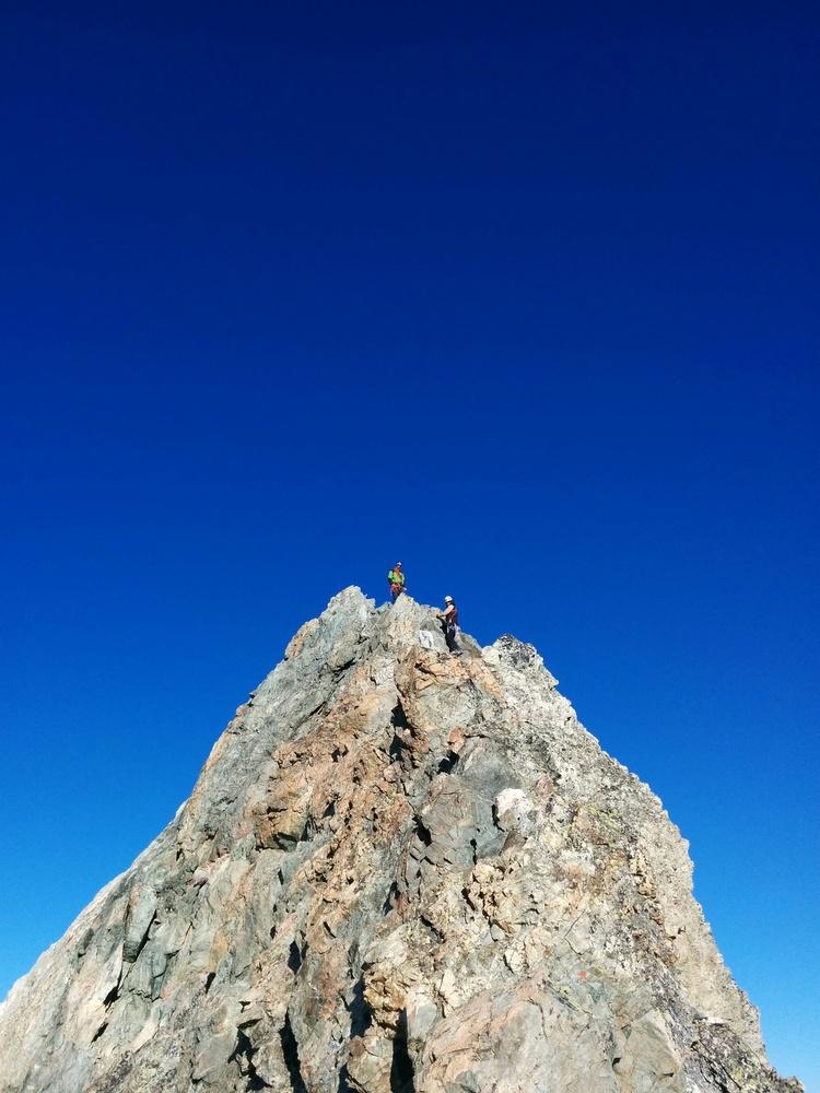 Stage autonomie alpinisme - Sur la Roche Faurio