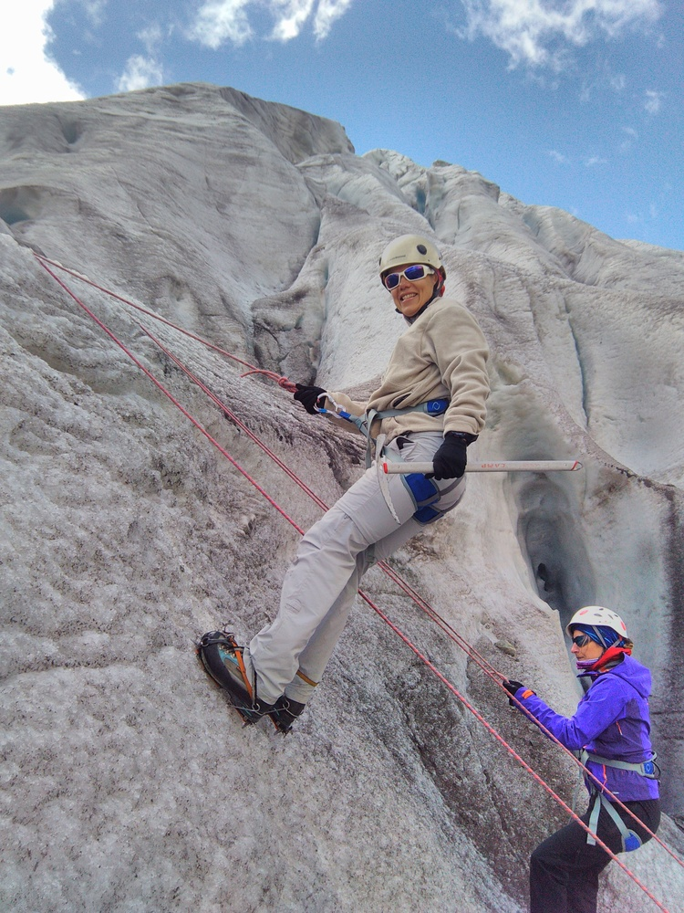Stage initiation Alpinisme - Ecole de glace 3