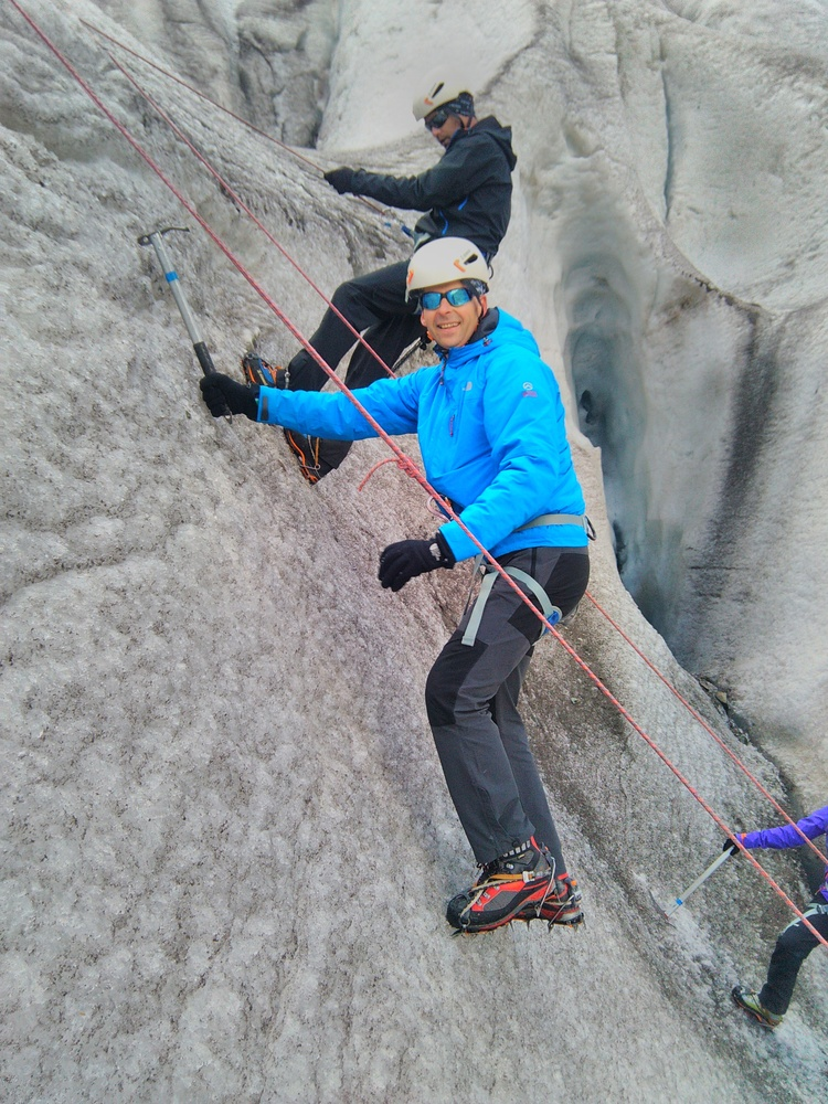 Stage initiation Alpinisme - Ecole de glace 2