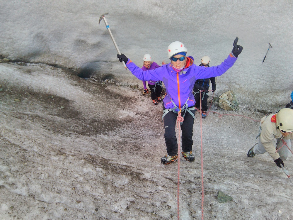 Stage initiation Alpinisme - Ecole de glace 1