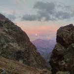 Traversée Sialouze - Début de lune rousse