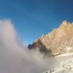 Traversée Sialouze - La mer de nuage