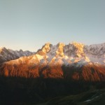 Mont-Blanc - Panorama d'automne