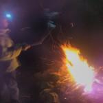 Jeu avec le feu