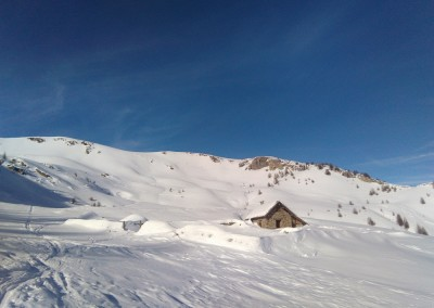 Tête des Raisins - Cabane de Clot Sarret