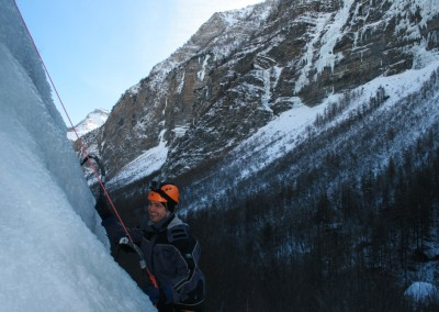Initiation Cascade de glace - Stéphane