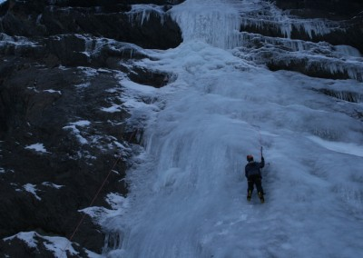 Initiation Cascade de glace - Madame Tape Dur