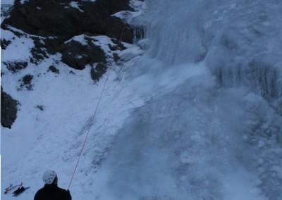 Initiation Cascade de glace - Moulinette d'entrainement