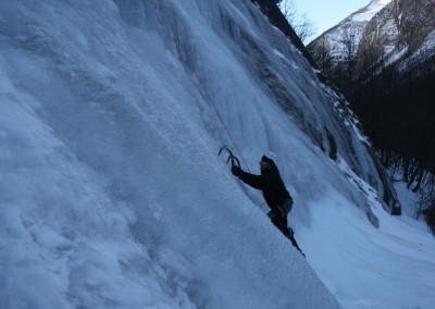 Initiation Cascade de glace - Seb aux commandes