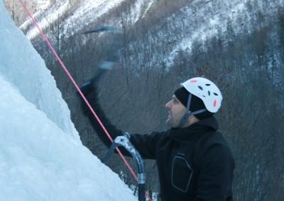 Initiation Cascade de glace - Yeaah