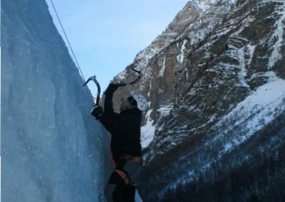 Initiation Cascade de glace - La classe