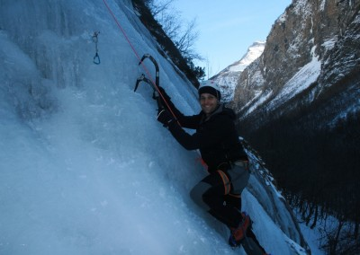 Initiation Cascade de glace - Smile!
