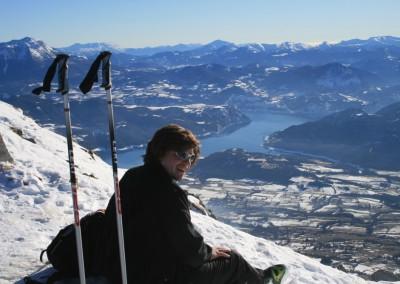 Fourche - Gardette - Vue sur le fjord