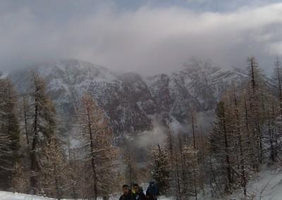Sous les pentes du Petit Peygu - A la montée